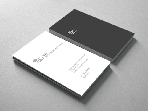 ALPR Corporate Relations: Business Card Design
