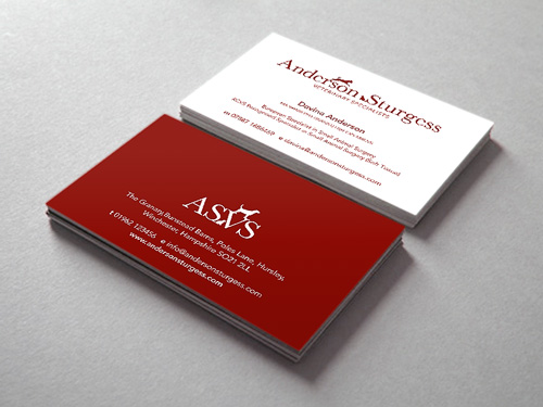 Anderson Sturgess: Business Card Design