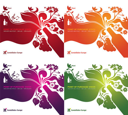 Constellation Europe: Alternative Brochure Cover Designs