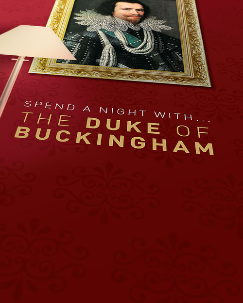 The Duke of Buckingham: Leaflet Cover Detail