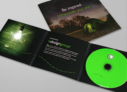kdesigngroup: CD Mailer and Brohure Design