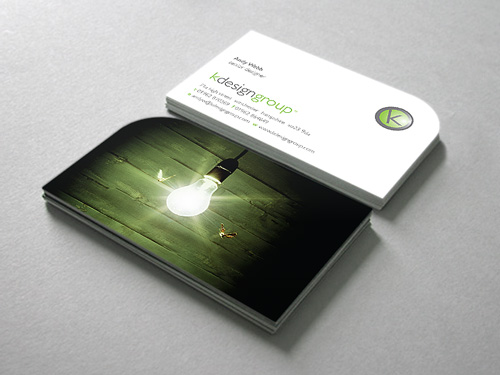 kdesigngroup: Business Card Design